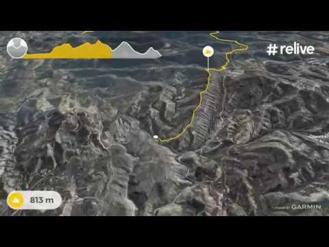 RELIEVE VALDEGUTUR-LA CORONELA-PEÑA COFRADES-CAMINO DEL NAMEDIANO-BARRANCO  EL CAJO Y  REAJO