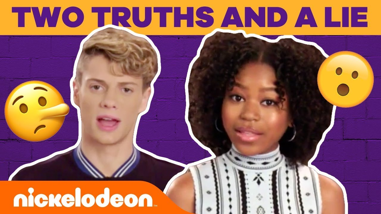 Download Jace Norman & Riele Downs Play Two Truths and a Lie & Go BTS   #TryThis