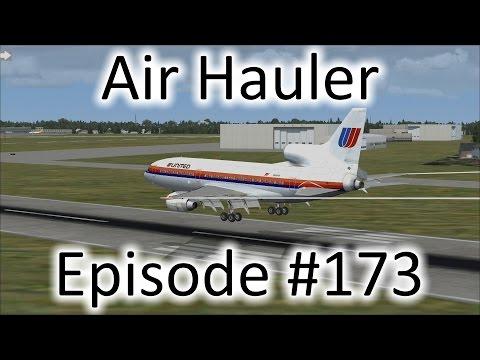 FSX | Air Hauler Episode #173 - The Lockheed L-1011 TriStar | L-1011-500