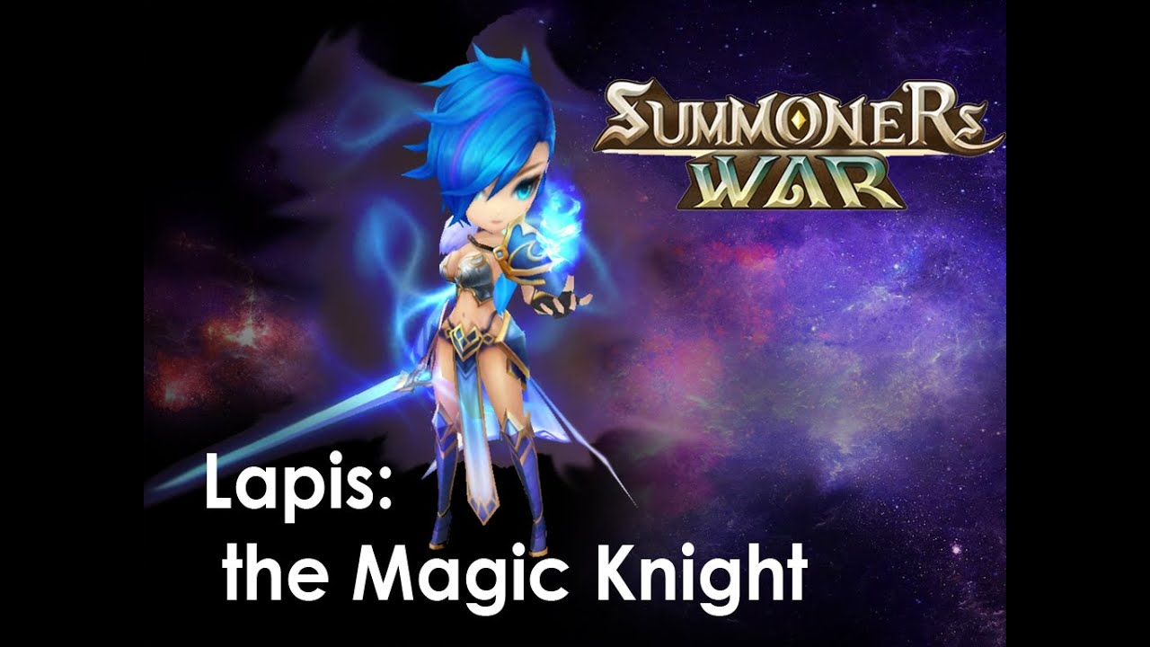 101 stronk summoners war welcome lapis the magic knight youtube