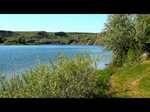 LittleBow Provincial Park in Lethbridge area of South Alberta in Western Canada