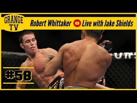 #58 Robert Whittaker Live with Jake Shields