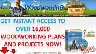 Woodworking Shop Plans & Wood Cradle Plans