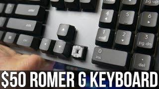 $50 Romer-G Mechanical Keyboard - Logitech K840 Review