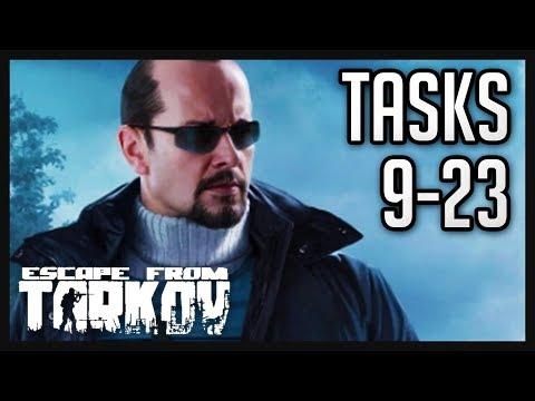 Peacekeeper Tasks (9-23) Guide - Escape from Tarkov