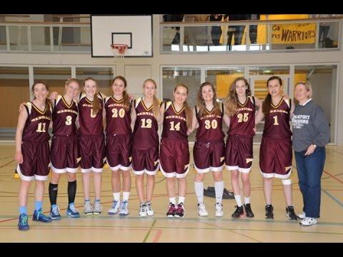 Frankfurt International School - 2014 SCIS Tournament - JV Girls Basketball - Champions