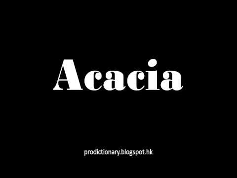 How To Ounce Acaciapro