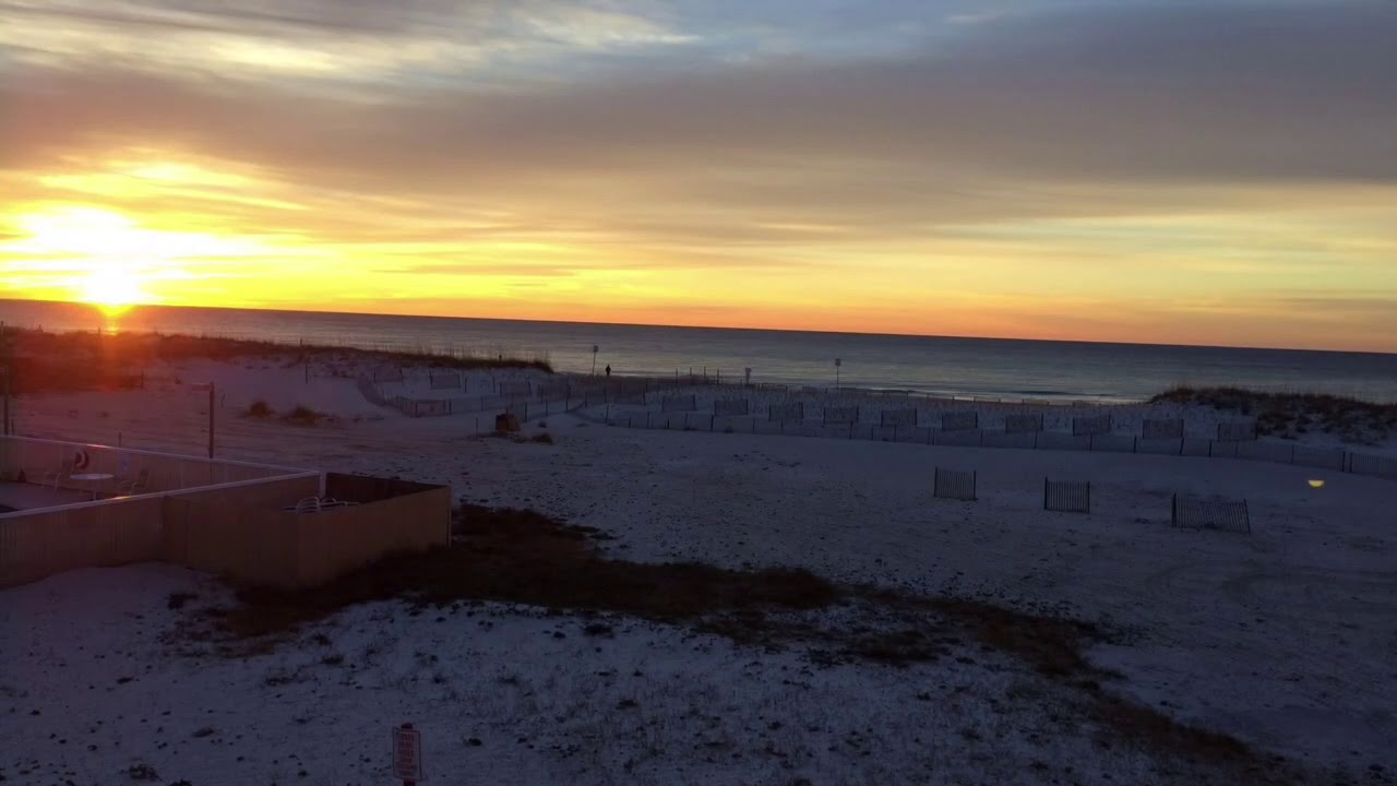 Pensacola Beach Sunrise 5 Jan 2018