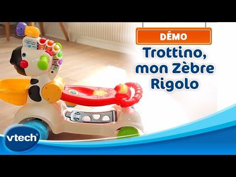 Trotteur Zèbre TrottinoMon ParlantVtech Rigolo Le dBxCoe