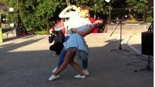 Свадебный танец Джайв Рок н Ролл