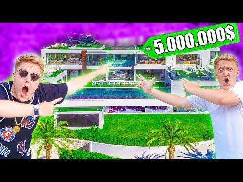 видео: ПРЯТКИ НА ВИЛЛЕ ЗА 5.000.000 $$$ В США