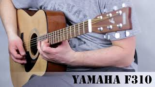 Yamaha F310 acoustic guitar :: Demo, Soundcheck