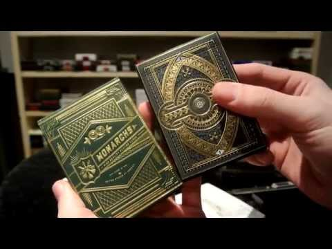 Theory 11 Unboxing : Green Monarchs \u0026 Nomad Playing Cards