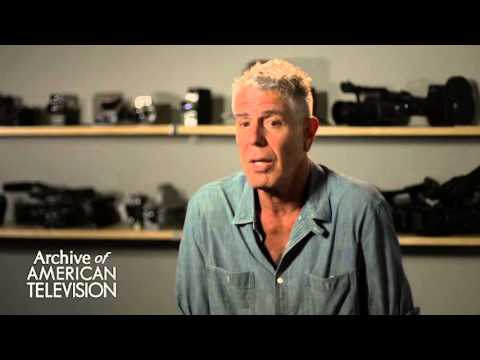 "Anthony Bourdain on the Haiti episode of ""No Reservations"" - EMMYTVLEGENDS.ORG"