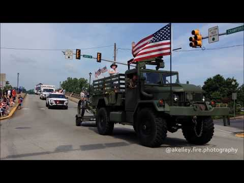 Connellsville City Memorial Day Parade 2018