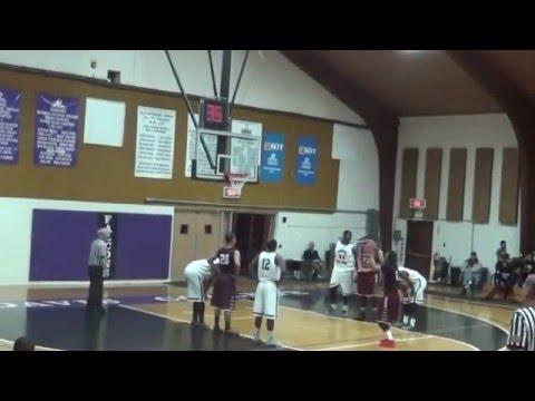 Maleec Taylor #2 Vaughn College Basketball Highlight film
