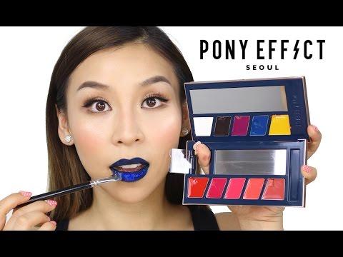 Pony Effect Makeup- TINA TRIES IT