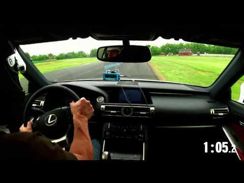2014 Lightning Lap: Lexus IS350 F Sport