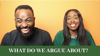 THINGS WE ARGUE ABOUT // Misunderstandings in Marriage