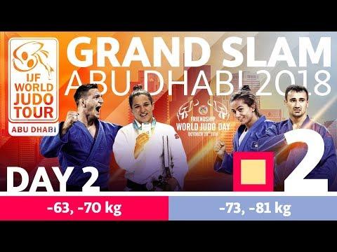 Judo Grand-Slam Abu Dhabi 2018: Day 2 - Day 2: Tatami 2