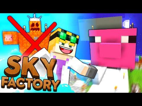 Minecraft Sky Factory - PIG MASCOT #47