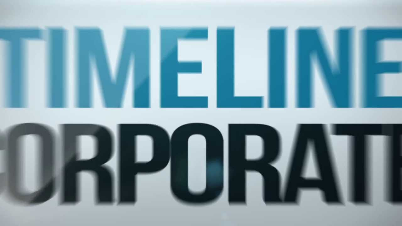 Corporate Timeline Videohive After Effects Template Youtube