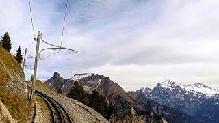 Driver's Eye View - Schynige Platte Railway (Switzerland)