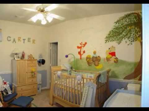 Diy Winnie The Pooh Baby Room Decorations