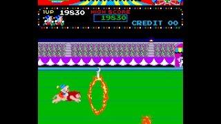 Arcade Game: Circus Charlie (1984 Konami)