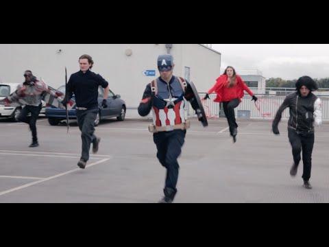 ตัวอย่าง Captain America: Civil War Trailer แบบต้นทุนต่ำ