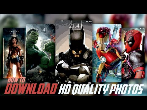 How to download pure HD quality images in android.........