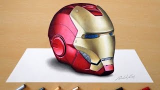 3D Drawing: Iron Man
