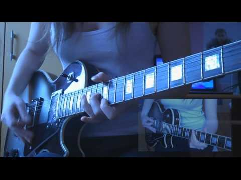 Muse - Hysteria (guitar cover HD)