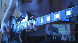 Muse - Hysteria (guitar cover HD)