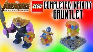 LEGO Avengers Infinity War Infinity Gauntlet (ALL INFINITY STONES)