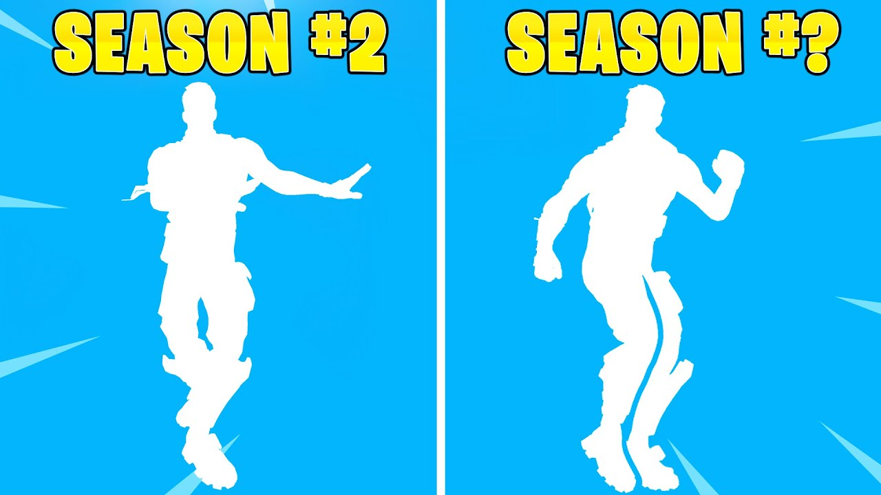 The RAREST Fortnite Emote of Each Season