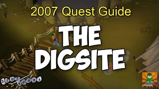 Runescape 2007 The Digsite Quest Guide