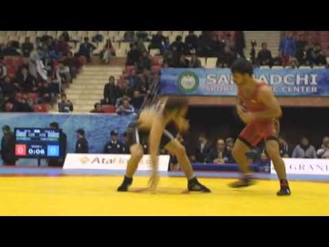Senior Wrestling Azerbaijan Championship final matches mat B / 14.12.2014