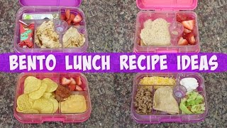 Bento Lunch Recipes Ideas||Yumbox Giveaway