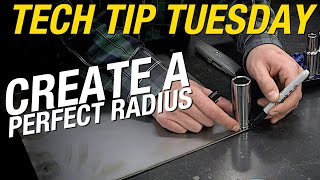TECH TIP TUESDAY! Create a Perfect Radius Using Common Tools Around Your Garage! Eastwood