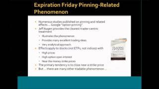 SMB Options Tribe - Expiration Pinning Trades