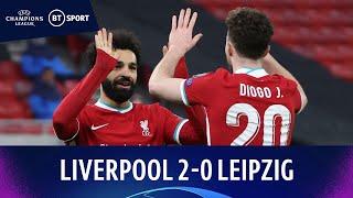 Liverpool v RB Leipzig (2-0) | Salah and Mané score as Reds progress | Champions League Highlights