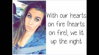 """Hearts On Fire"" - Cimorelli (Studio Version - Lyrics)"