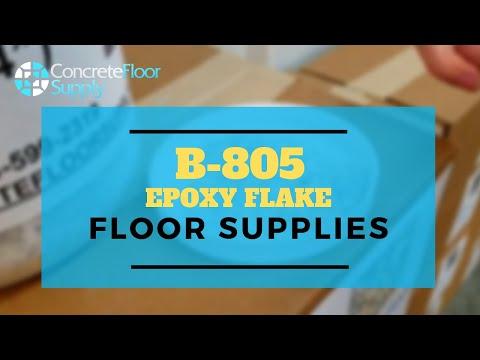 805 Epoxy Flake Flooring Supplies