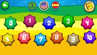 Daddy Finger Song and Numbers Sounds Game - Piano Kids Music Songs