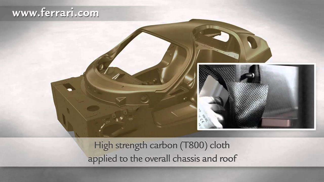 F1 carbon chassis for the new limited edition Ferrari - Technical video