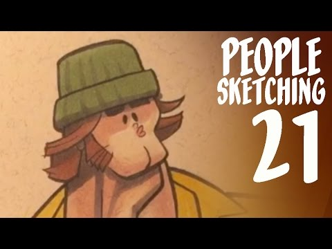 How To Be A Better Amateur - People Sketching Episode 21