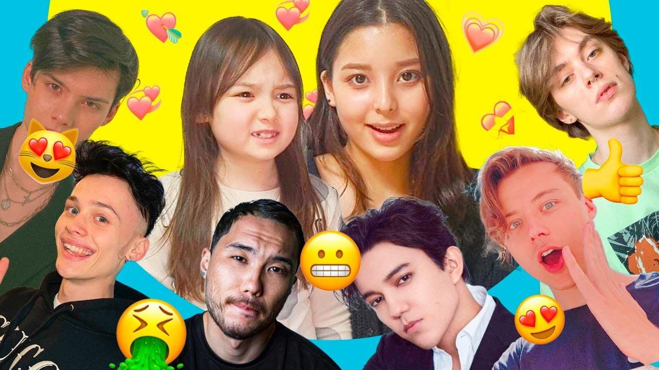 Корейские девочки оценивают русских  популярных парней по внешности / Красавчик на корейский вкус?