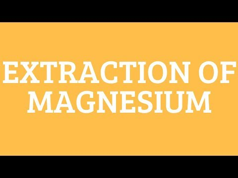 EXTRACTION OF MAGNESIUM-NON FERROUS EXTRACTION- EVERYTHING METALLURGY