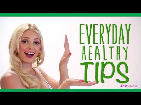 Health Tips! With AMIClubwear Spokesmodel Jenn Barlow!